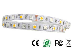 5050smd RGB+W LED Strip lights