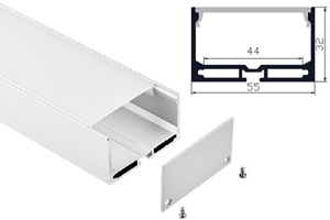 W55mm*H32mm*L1000mm Aluminum Profiles