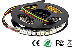 SK9822 RGB Pixel Digital LED Strip Lights