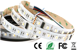 24VDC 60leds 10Pixels DMX512 RGBW LED Stripes