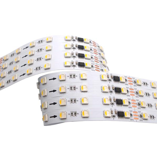 12V/24V 60leds TM1814 RGBW LED Strips
